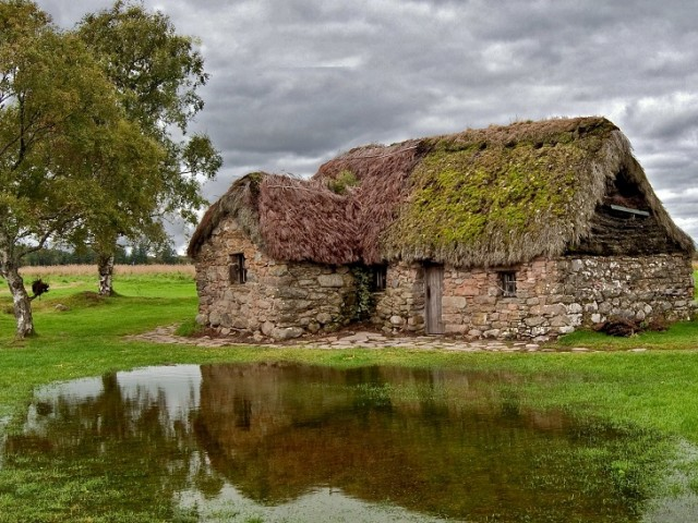 Take a walk onto Culloden Battlefield near Inverness, site of the last Jacobite Rising image