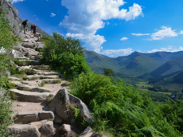 Climb the highest mountain in the UK on an optional guided hike image