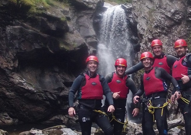 Take on the challenge of an adrenalin thumping gorge walk or canyoning experience image