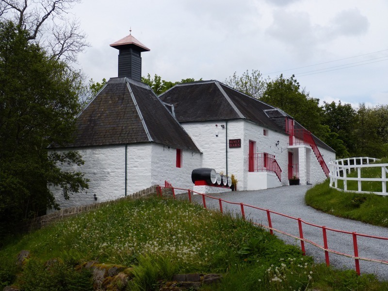 Visit the smallest whisky distillery in Scotland in Highland Perthshire enroute south to end your tour image