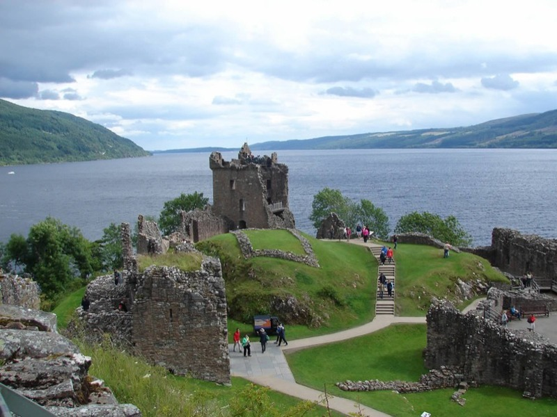 Explore Loch Ness and visit Urquhart Castle image