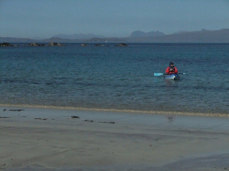 Immerse yourself in the wilderness and tranquility of the north west of Scotland on an amazing one day sea-kayaking trip image