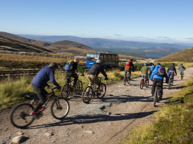 Spend time exploring the many walking and cycling trails in the Cairngorm National Park image
