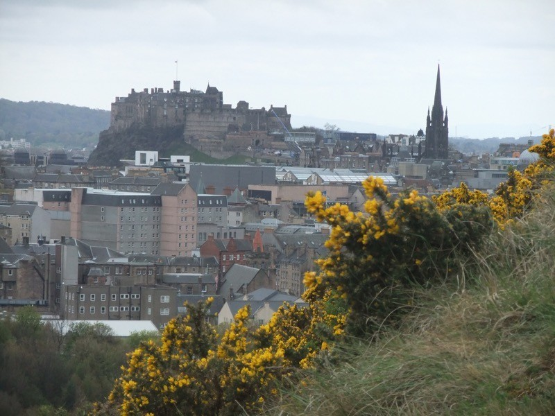 Exploring the romantic city of Edinburgh with a visit to the castle at the top of the Royal Mile image