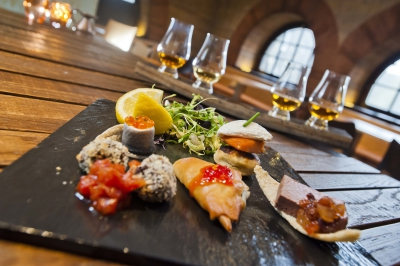 Enjoy a superb food and whisky tasting experience on Edinburgh's Royal Mile image
