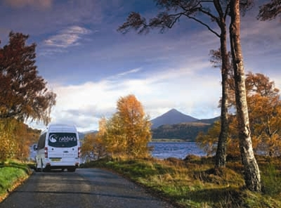 Join a guided small group tour from Glasgow or Edinburgh for day trips and short tours