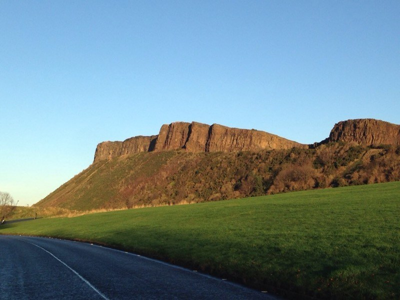 Work up an appetite with a walk in Holyrood Park and Arthurs Seat image