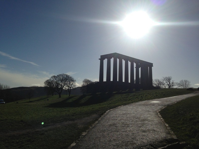 Enjoy 360 degree views of the city skyline from Calton Hill image
