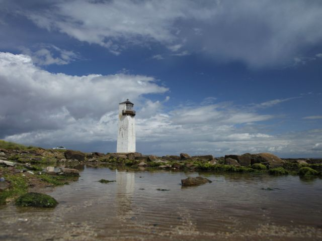 Enjoy a visit to the second oldest lighthouse in Scotland on the Solway Coast in Dumfries & Galloway image