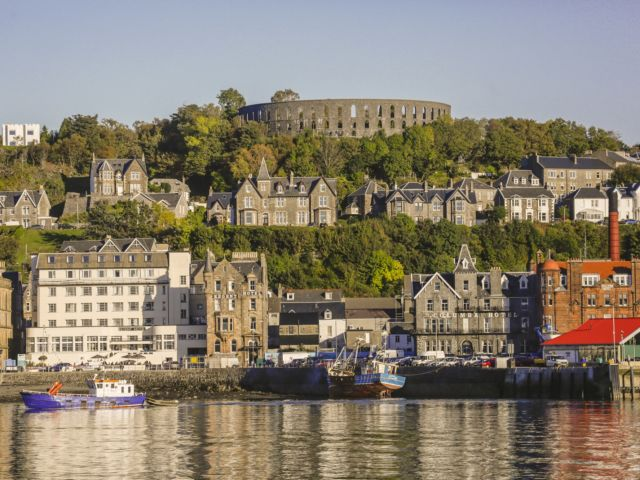 Explore our 'Seafood Capital of Scotland' in the bustling port of Oban and their Highland distillery image