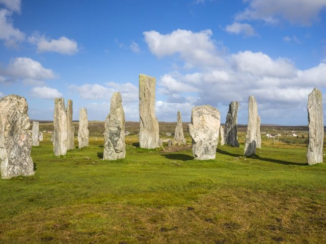 Visit the historic Callanish Standing Stones on the Isle of Lewis image