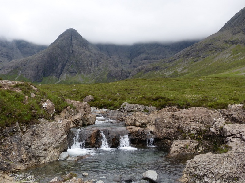 Explore the Cuillin Mountains on Skye and a walk through Glenbrittle image