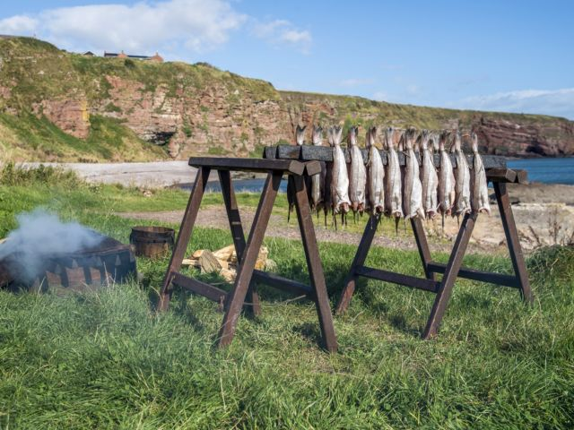 Explore Angus and try an Arbroath Smokie and take an optional visit to Glamis Castle image