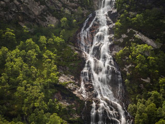 Steall Falls in Glen Nevis image