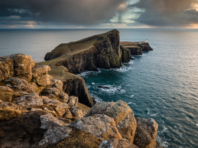 Neist Point, one of Skye's perfect sunset locations. image