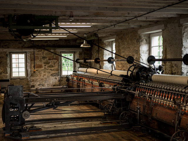 Enjoy a private tour at a historic Highland Wool Mill image
