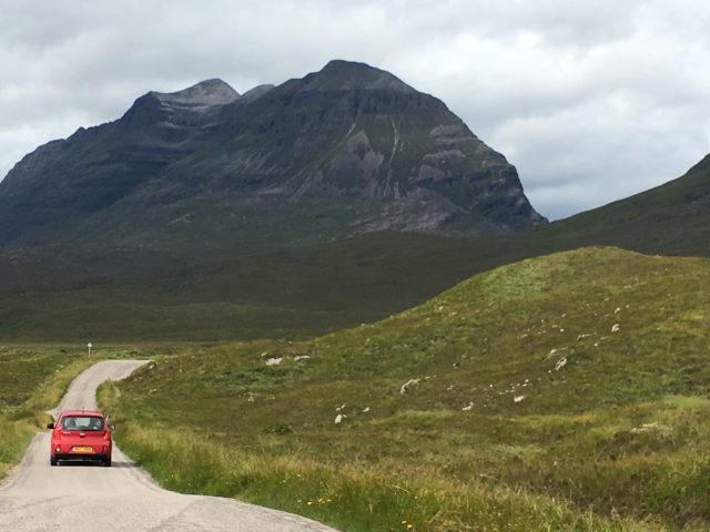 Enjoy driving through the magnificent mountain ranges and national reserves of the Scottish Highlands image